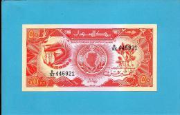 SUDAN - 50 PIASTRES - 1987 - P 38 - UNC. - 2 Scans - Soudan