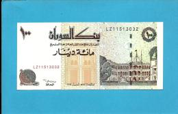 SUDAN - 100 SUDANESE DINARS - 1994 - P 56 - UNC. - LZ - Replacement Banknote - 2 Scans - Soudan
