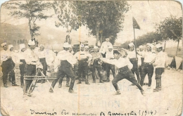 CARTE PHOTO MANOEUVRES DE BERROUAGHIA ECRITE D'ALGER EN 1912 - Other