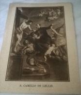 SANTINO SAN CAMILLO DE LELLIS ED. BONONIA - Images Religieuses
