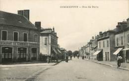 Dep - 03 - COMMENTRY Rue De Paris Restaurant Du Commerce Clemenson - Commentry