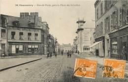 Dep - 03 - COMMENTRY Rue De Paris Pres La Place Du 14 Juillet - Commentry