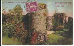PROVINS , La Tour Aux Engins , 1934 - Provins