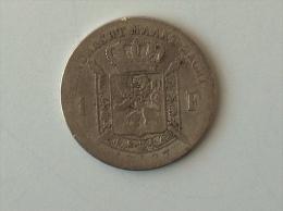 BELGIQUE 1 FRANC 1887 ARGENT SILVER - 07. 1 Franc