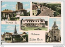 CASTELNAU  RIVIERE  BASSE,,,,,  SOUVENIR ,,,,VOYAGE  1966,,,,
