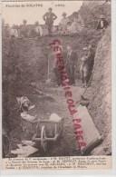 71 - FOUILLES DE SOLUTRE - 1923- EN PRESENCE DU 2E AURIGNACIEN- M. MAYET LYON- M. DEPERET -MAZENOT- JEANTON MACON - Altri Comuni