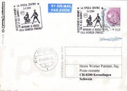 Police - Italy, Card P/m 2004 La Spezia Traffic Police   (B450) - Policia – Guardia Civil