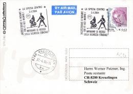 Police - Italy, Card P/m 2004 La Spezia Traffic Police   (B450) - Politie En Rijkswacht