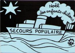 Jean EFFEL - Secours Populaire - Noël Des Enfants Chiliens - Effel