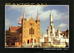 PAKISTAN PICTURE POSTCARD KARACHI ST. PATRICK'S CHURCH - Pakistan