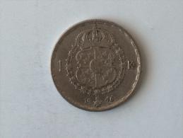 SUEDE 1 Krone 1946 ARGENT SILVER Krona Couronne - Suède