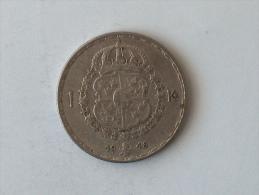 SUEDE 1 Krone 1948 ARGENT SILVER Krona Couronne - Suède