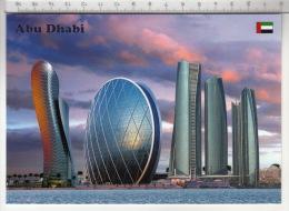 Abu Dhabi - The Gate, Aldar HQ & Etihad Towers - Emirats Arabes Unis