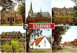 STABROEK (2940) : Un Bonjour De Stabroek. CPSM Multivues (6 Vues). - Stabroek