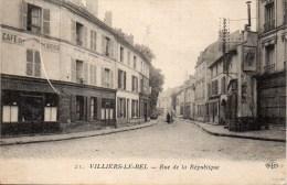 95 VILLIERS-le-BEL  Rue De La République - Villiers Le Bel