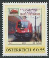 ÖSTERREICH / PM Nr. 8003447 / BSV Linzer Eisenbahner Nr. 2 / Postfrisch / ** - Österreich