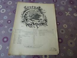 Sérénade  G.Pierne - Partitions Musicales Anciennes