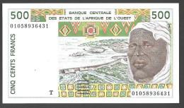 TOGO  ( West African States) 500 Francs 2000 - P810Tl - UNC - Togo