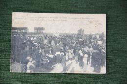 1er Anniversaire De La Bataille De La Marne ( 12 Sept 1915)inauguration Monument Aux Morts Entre BARCY Et CHAMBRY - Monuments Aux Morts