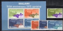 GF476 - MALAWI 1965, BF N. 3 PIù La Serie *** MNH . - Malawi (1964-...)