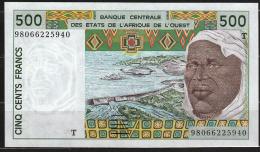 TOGO  ( West African States) 500 Francs 1996 - P810Tf - UNC - Togo