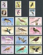 KITTS 1982 N° 494/511 ** Neufs = MNH Superbes Cote 35 € Faune Oiseaux Birds Fauna Animaux - St.Kitts-et-Nevis ( 1983-...)
