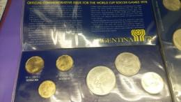 ARGENTINA SET MUNDIAL 1978 PLATA SILVER - Argentina