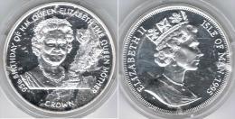 ISLA DE MAN CROWN 1995 PLATA SILVER - Monedas