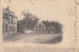 AK Pinon S/w Gelaufen 1905 - Frankreich