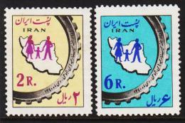 1962. Health. (2 Ex.) (Michel: 1107 - 1108) - JF128619 - Iran