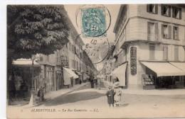 Albertville - La Rue Gambetta - Albertville