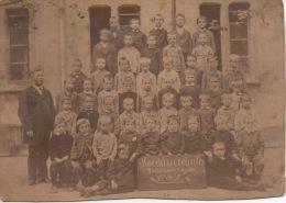 Photo école 1880 Mulhouse Mulhausen Koechlinschule 12,5 Par 9 Cm - Ancianas (antes De 1900)