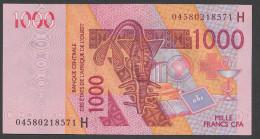 NIGER ( West African States) 1000 Francs 2003  - P415Ha - UNC - Mali