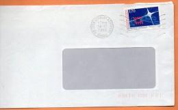 MAURY N° 2927   CENTENAIRE DE L'ECOLE D'ELECTRICITE   Lettre Entière 110x220 N° T 854 - Marcophilie (Lettres)