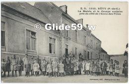 RETY - La Mairie Et Le Groupe Scolaire Pris Du Côté De L'Ecole Des Filles (animée) - N° 2323 - Andere Gemeenten