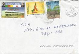 Cameroun Cameroon 2014 Bafang AIDS SIDA Chantal Biya Foundation 100f Primary School 100f Boar Sanglier Cover - Kameroen (1960-...)
