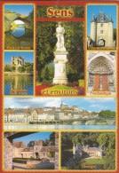 CPM  Sens 89 Et Environs : Multi-vues  Villeneuve L'Archevêque , Villeneuve S/Yonn , Montereau , Pont Sur Yonne  Nailly - Autres Communes