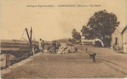 Cameroon Cameroun Douala Quai Edition Tabourel Printed In Paris - Kameroen