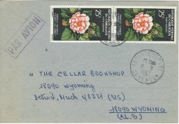 Cameroun Cameroon 1967 Yaounde Hibiscus Flowers Cover - Kameroen (1960-...)