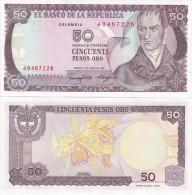 Colombia - 50 Pesos 1986 UNC Lemberg-Zp - Colombie