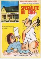 Cpm Serie  Recommandations LA SPECIALITE DU CHEF - Humour