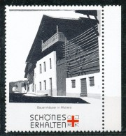 Österreich - Vignette . Bauernhäuser In Mutters - Cinderellas