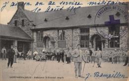 SAINT-MARS-LA-JAILLE -  Ambulance St-Fernand 1914-15  + Cachet - France