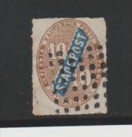 Finnland Helsingfors, Stadtpost P 2 (1868) Puntentwertung - 1856-1917 Russian Government