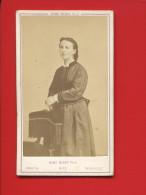 NUMA BLANC FILS PEINTRE PHOTOGRAPHE  PARIS NICE TROUVILLE PHOTO  FEMME - Old (before 1900)
