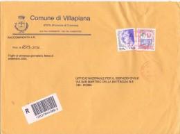 COMUNE DI VILLAPIANA - 87076 - PROV COSENZA - R - 2004 - FTO 18X24 - TEMATICA TOPIC STORIA COMUNI D´ITALIA - Affrancature Meccaniche Rosse (EMA)