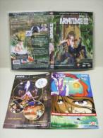 JAQUETTE DVD + Boîtier ARMITAGE III + Dépliant Publicitaire - Manga