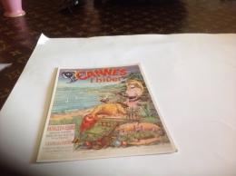 Cannes L Hiver Bataille De Fleurs Casino    Offert Par Blanche Porte Publicite - Handel
