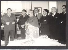 6771-INAUGURAZIONE NUOVA CASERMA VIGILI DEL FUOCO DI CASALE MONFERRATO-MONSIGNOR GIUSEPPE ANGRISANI-1967-FOTO - Mestieri