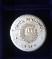 Boite de Savon Dentifrice Fran�aise GIBBS Paris WW2